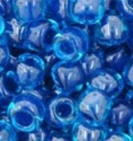 7.5 GM Toho Round 6/0 : Inside-Color Aqua/Capri Lined