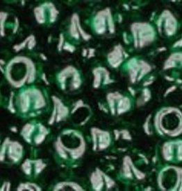 8 GM Toho Round 8/0 : Transparent Green Emerald