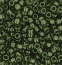 9 GM Toho Round 15/0 : Transparent Olivine