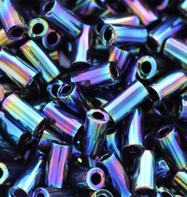 7 GM Toho Bugle #1 3mm : Metallic Rainbow Iris (APX 600 PCS)