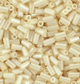 7 GM Toho Bugle #1 3mm  : Opaque-Lustered Lt Beige (APX 600 PCS)