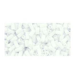 7 GM Toho Bugle #1 3mm : Matte-Color Opaque White ( APX 600 PCS)