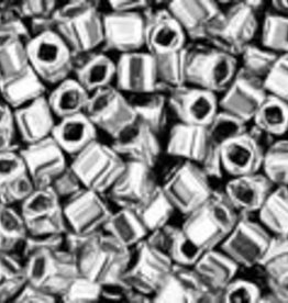 8 GM Toho Cube 1.5mm : Metallic-Silver (APX 850 PCS)