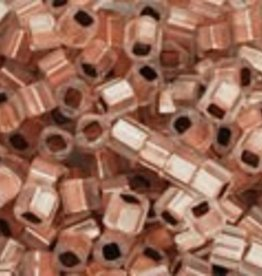 8 GM Toho Cube 1.5mm : Copper-Lined Alabaster (APX 850 PCS)