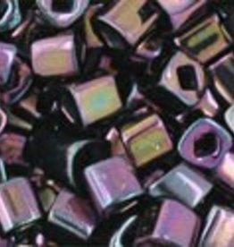8 GM Toho Cube 3mm : Metallic Iris Purple (APX 150 PCS)