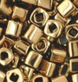 8 GM Toho Cube 3mm : Bronze (APX 150 PCS)
