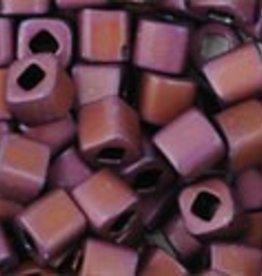 8 GM Toho Cube 3mm : Matte-Color Mauve Mocha (APX 150 PCS)