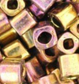 8 GM Toho Cube 4mm : Galvanized Gypsy Gold (APX 75 PCS)