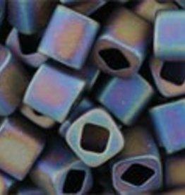 8 GM Toho Cube 4mm : Matte-Color Iris Purple (APX 75 PCS)