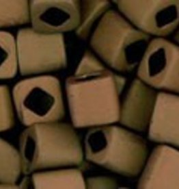 8 GM Toho Cube 4mm : Matte-Color Dark Copper (APX 75 PCS)