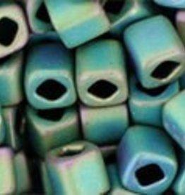 8 GM Toho Cube 4mm : Matte-Color Aquarius (APX 75 PCS)