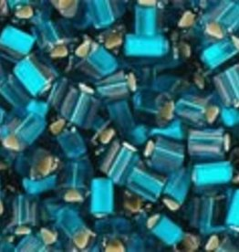 8 GM Toho Triangle 11/0 : Silver-Lined Frosted Teal (APX 550 PCS)