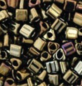 8 GM Toho Triangle 11/0 : Metallic Iris Brown (APX 550 PCS)