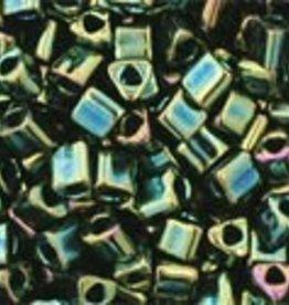 8 GM Toho Triangle 11/0 : Metallic Iris Green/Brown (APX 550 PCS)