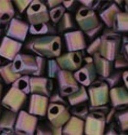 8 GM Toho Triangle 11/0 : Frosted Metallic Iris Purple (APX 550 PCS)