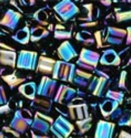 8 GM Toho Triangle 11/0 : Metallic Rainbow Iris (APX 550 PCS)