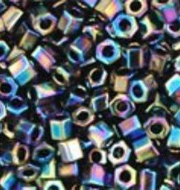 8 GM Toho Hex 11/0 : Metallic Rainbow Iris (APX 700 PCS)