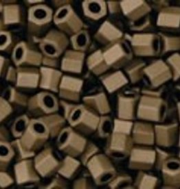 8 GM Toho Hex 11/0 : Matte-Color Dark Copper (APX 700 PCS)