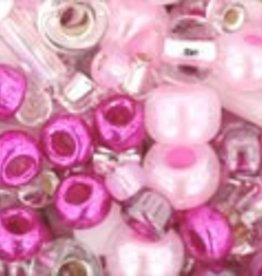 """Multi-Shape/Color Mix Tube 2.5"""" : Sakura- Cherry Mix"""