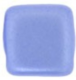 50 PC 6mm 2 Hole Tile : Pearl Coat Baby Blue