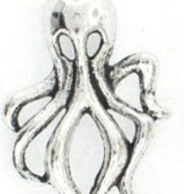 2 PC ASP 32x18mm Octopus Charm
