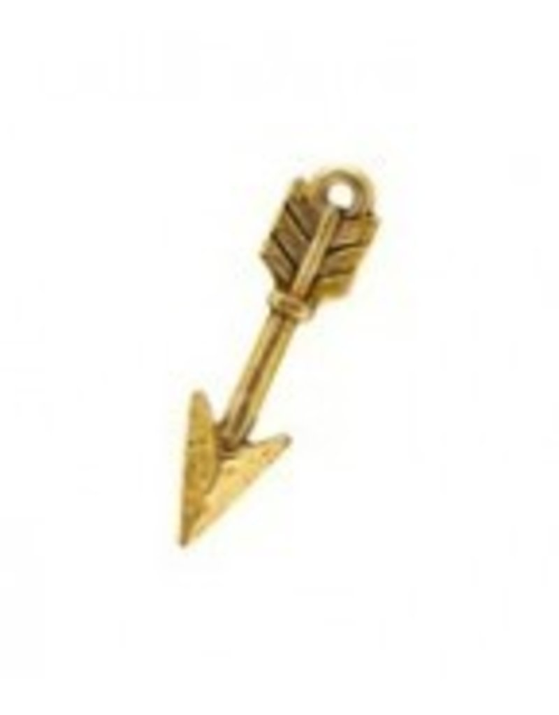 1 PC AGP 25mm Arrow Charm