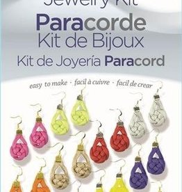 Coin Earrings Paracord Jewelry Kit