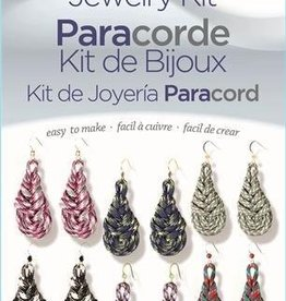 Teardrop Earrings Paracord Jewelry Kit