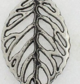 1 PC ASP 26x50mm Cut Out Leaf Charm