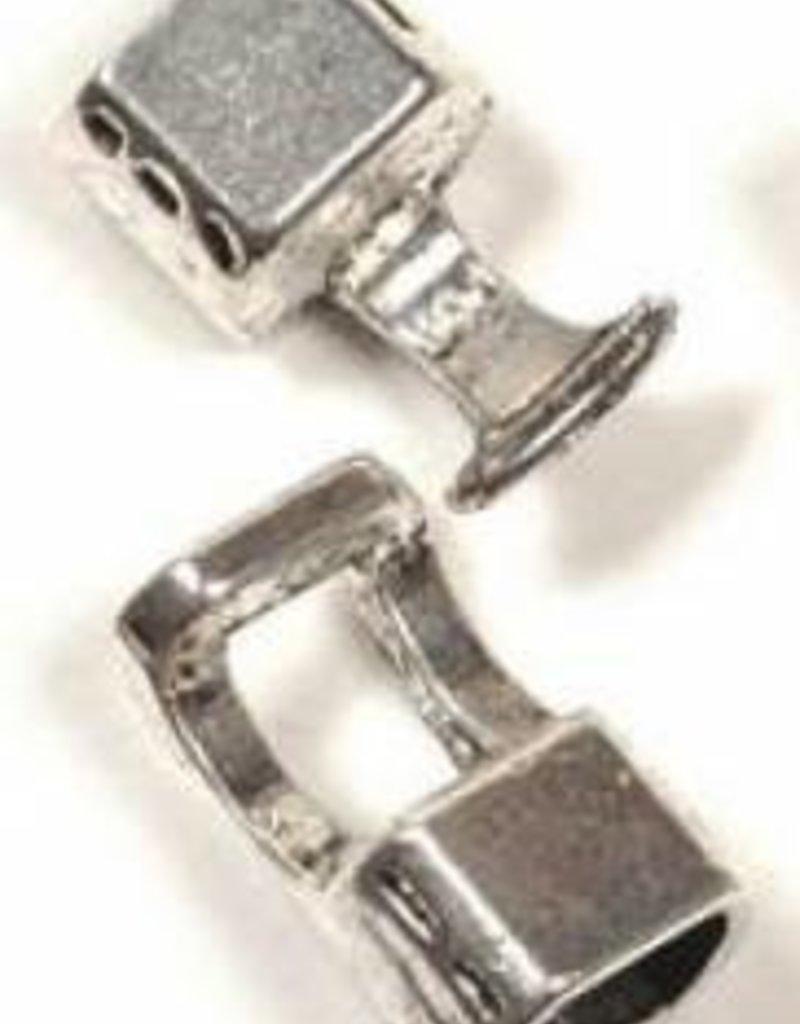 1 Set ASP 38x14mm Cord Clasp