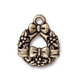 1 Set ABP Wreath & Bow Toggle Clasp