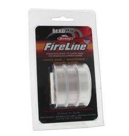 3 PK 15 YD EA 4,6,8 LB Fireline : Clear