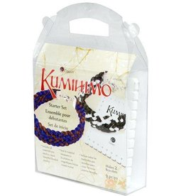 9 PC Kumihimo Square Starter Set- Makes 2 Bracelets