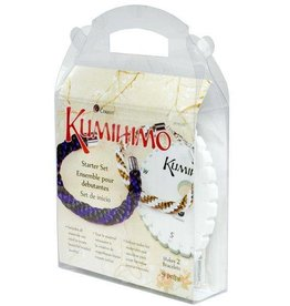 9 PC Kumihimo Round Starter Set- Makes 2 Bracelets