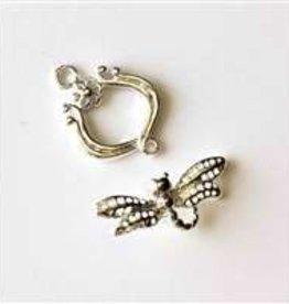 2 Set SP 16x24mm Dragonfly Toggle Clasp