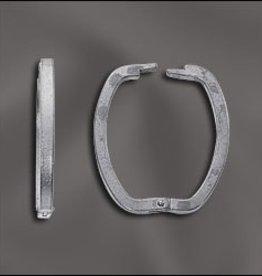 1 PC SP 26x21mm Necklace Shortener/Clasp