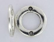 10 PC ASP 14x2mm 2 Hole Round Link