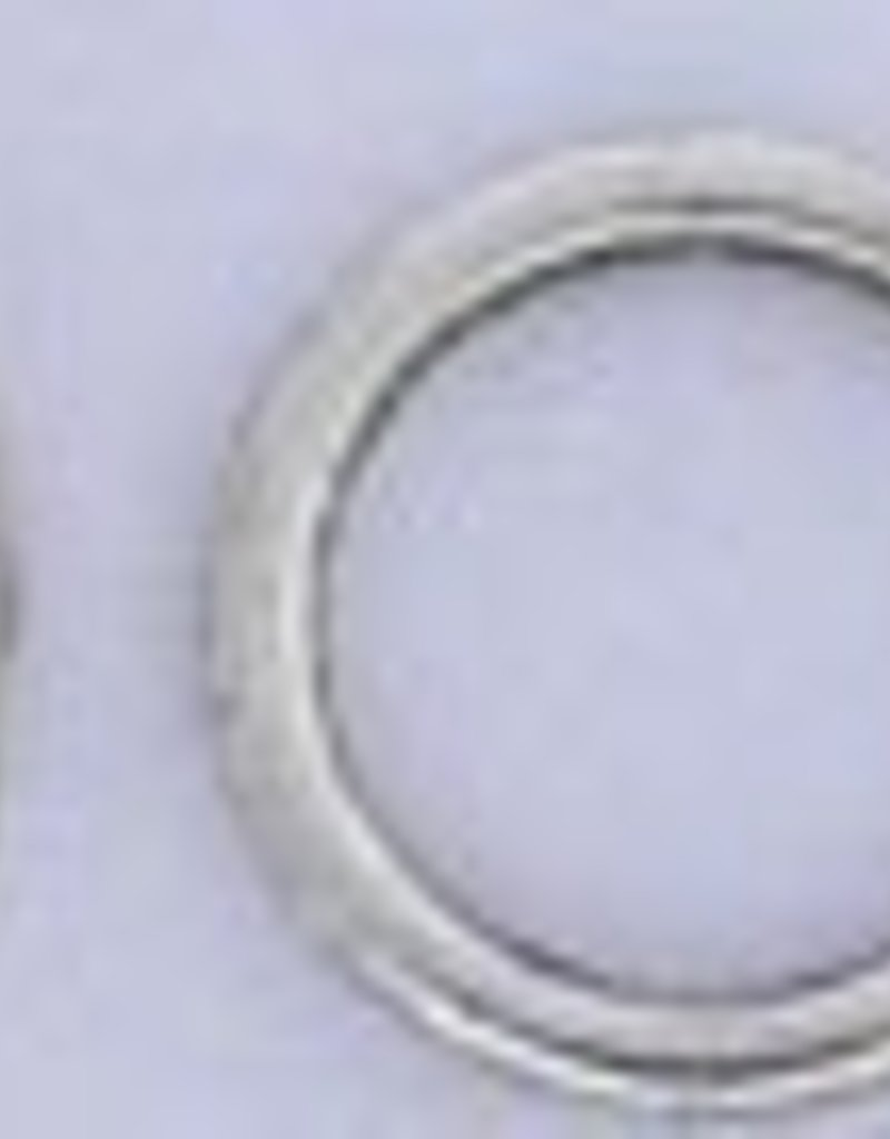 10 PC ASP 15x2mm Solid Ring