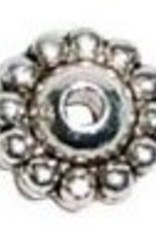 10 PC ASP 5x9mm Beaded Spacer Bead