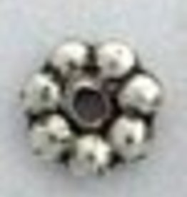 25 PC ASP 6mm Daisy Spacer Bead