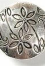 1 PC ASP 17x7mm 2 Flower Button
