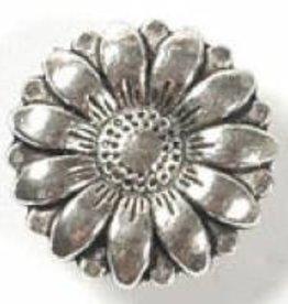 1 PC ASP 17x6mm Flower Button