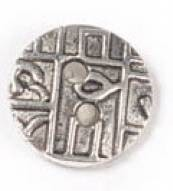 1 PC ASP 16x2mm Abstract Design Button