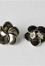 1 PC ASP 14mm Simple Flower Button