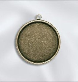 1 PC ABP 30mm Round Bezel Setting Pendant