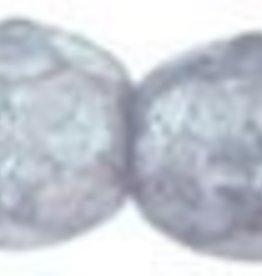 50 PC Firepolish 3mm : Luster - Stone Grey