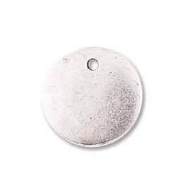 1 PC ASP 13mm Mini Circle Flat Tag