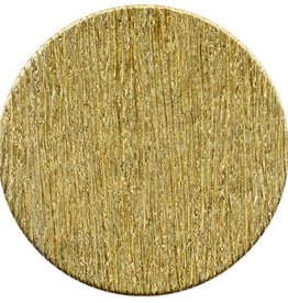 1 PC 24GA 25mm Brass Round Disc