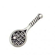 1 PC ASP 30x10mm Tennis Racket Charm