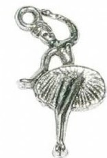 1 PC ASP 25x13mm Ballerina Charm